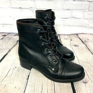 GBG GUESS Black Booties Size 9